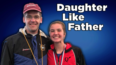 Daughter Like Father Rowing