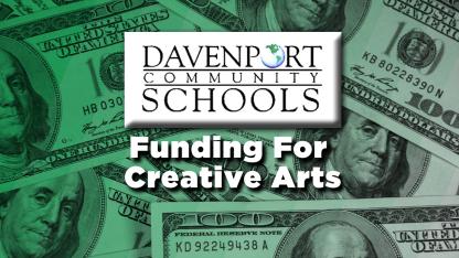 DavenportCreative ArtsFunding