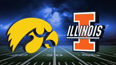 Iowa vs. Illinois Football
