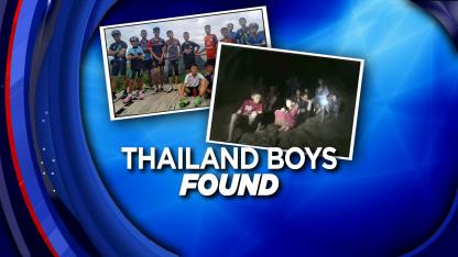Thailand Soccer Team Found